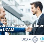 Clinalgia en el I Encuentro de Cátedras Universidad-Empresa de la UCAM