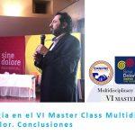 Clinalgia en el VI Master Class Multidisciplinar del Dolor. Conclusiones