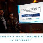 """Conferencia de """"Estrategia en el tratamiento interdisciplinar de la Fibromialgia"""" en AEFEDOCA"""
