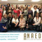 II Encuentro Nacional de ANAEDE con el apoyo de la UCAM y su Cátedra Mujer, Empresa y Deporte.