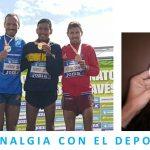 """Juan Antonio Pérez """"El Chiki"""" bronce en cross. Clinalgia con el deporte."""