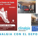 """Grupo Clinalgia con el deporte en la XXI  Prueba de Fondo """"El Espárrago-Villa de Huétor Tajar"""""""