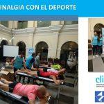 "Clínica Menorca (Grupo Clinalgia) en la XXXIII Prueba de Fondo ""Del Melocotón"" 2018, en Guadix"