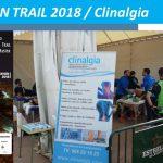 Clinalgia patrocinador de la Falco Trail 2018, V Campeonato de España de Trail Absoluto y Master.