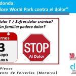 """Mesa Redonda: """"Sine Dolore World Park contra el dolor""""."""
