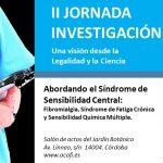 II JORNADA INVESTIGACIÓN. Una visión de la Legalidad y la Ciencia