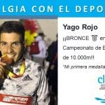Yago Rojo ¡¡BRONCEen el Campeonato de España  de 10.000m!! Clinalgia con el deporte.