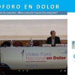 Primer Videoforo en Dolor / Ozonoterapia