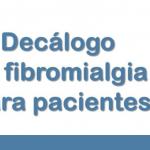 Decálogos de Fibromialgia