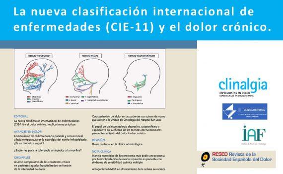 Nueva Clasificación Internacional de Enfermedades y Dolor Crónico