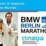 Clinalgia con el deporte / Mar Gómez Nicolás preparada para BMW Berlín - Marathon