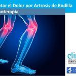 Cómo tratar el Dolor por Artrosis de Rodilla con Ozonoterapia