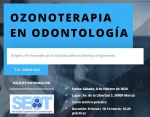 Curso de Ozonoterapia en Odontología