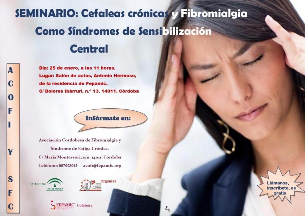 Seminario Cefaleas Crónicas Fibromialgia