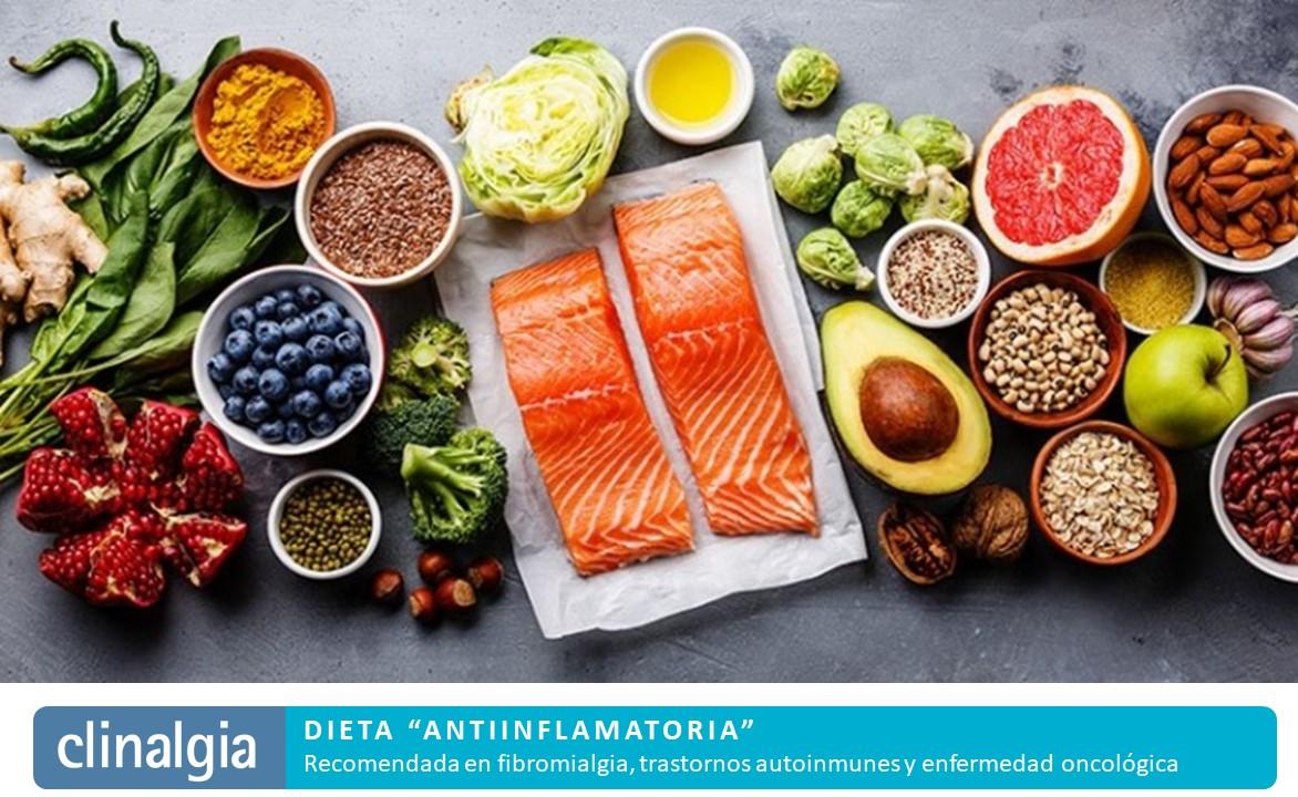 Dieta antiinflamatoria   Fibromialgia