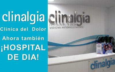 Clinalgia ¡YA SOMOS HOSPITAL DE DÍA!