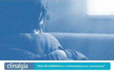 El 91,4 por ciento de las personas con dolor crónico afirma que el confinamiento ha afectado a su estado emocional