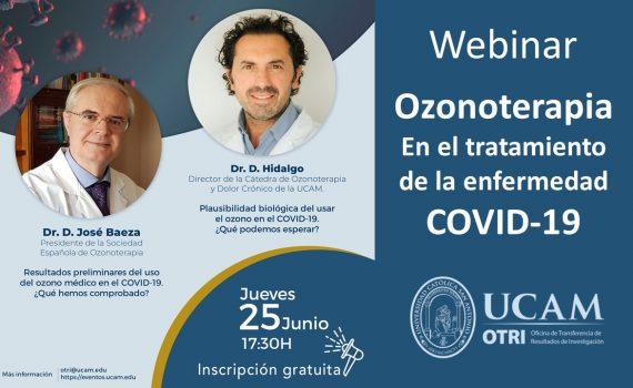 webinario ozonoterapia COVID UCAM