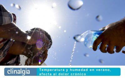 Temperatura y humedad en verano, afecta al dolor crónico