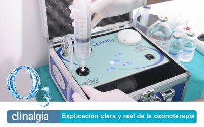 Explicación clara y real de la ozonoterapia