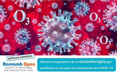 Efectos terapéuticos de la ozonoterapia que justifican su uso para el tratamiento de COVID-19