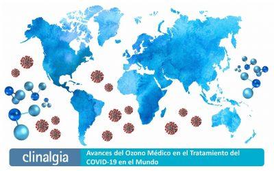 Avances del Ozono Médico en el Tratamiento del COVID-19 en el Mundo