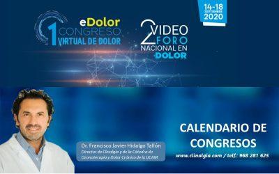 I Congreso Virtual de Dolor (eDolor) y 2º Video Foro Nacional en Dolor