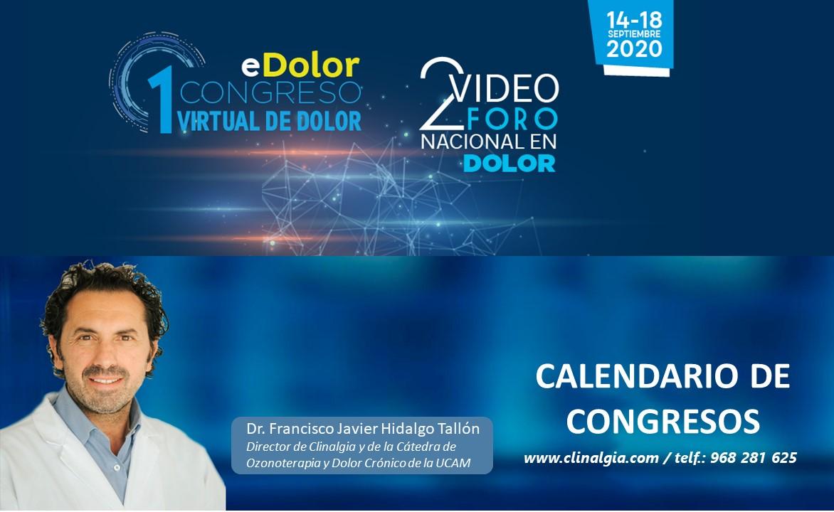 Iº Congreso Virtual del Dolor (eDolor) y 2º Vídeo Foro Nacional en Dolor