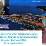 """Juan Antonio Pérez """"el Chiki"""" seleccionado para el Campeonato del Mundo de Medio Maratón  Gdynia - Polonia 2020"""