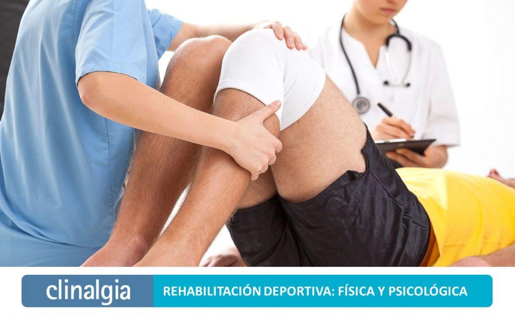Rehabilitación Deportiva: Física y Psicológica