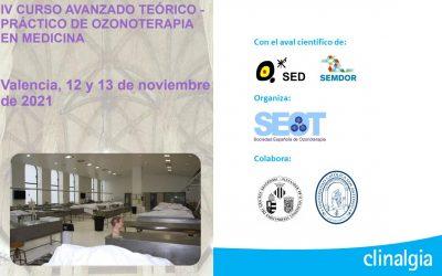 IV Curso Avanzado teórico-práctico de Ozonoterapia