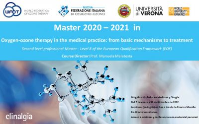 Universitá di Verona / Máster Terapia de oxígeno-ozono en la práctica médica: de los mecanismos básicos al tratamiento (2º Nivel)